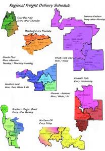 Break down by region